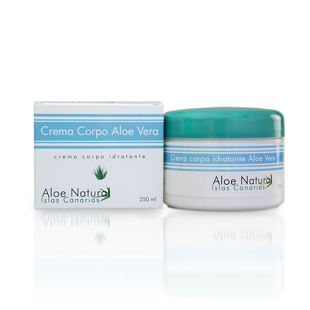 Crema all'Aloe Vera per corpo e mani Aloe Natural